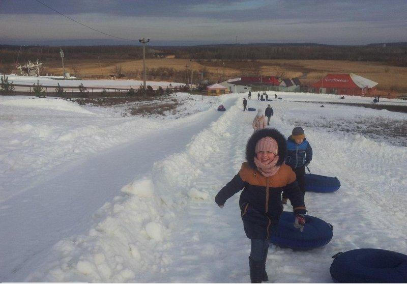 В Одесской области можно прокатиться на лыжах с ветерком