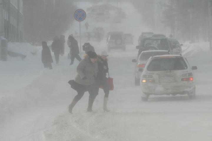 Синоптики рассказали, когда будет пик бури 6 января