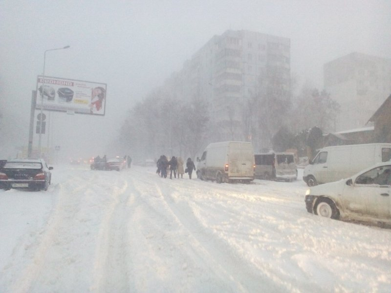 Снегопад забрал две жизни в Одесской области