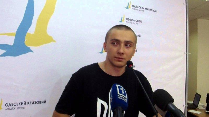 """Стерненко решил """"двигаться дальше"""" и уйти с поста руководителя одесского """"Правого сектора"""""""