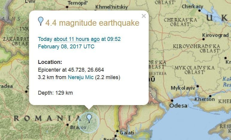 В Одесской области ощутили еще два землетрясения. Чего ждать завтра?
