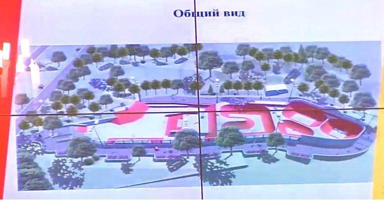 Парку Шевченко добавят «экстрима» (ФОТО)