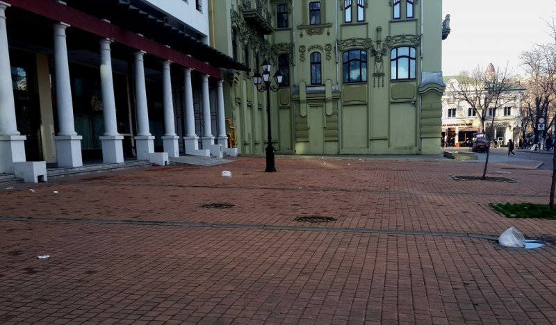 У Одессы большие «мусорные» проблемы (ФОТО)