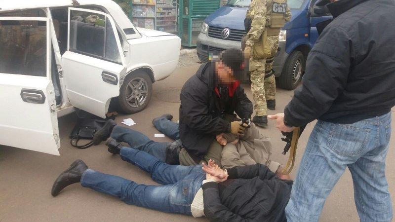 СБУ отрапортовало о задержании диверсантов в Одессе (ФОТО, ВИДЕО)