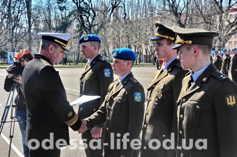 Досрочное пополнение в рядах офицеров в Одессе (ФОТО)