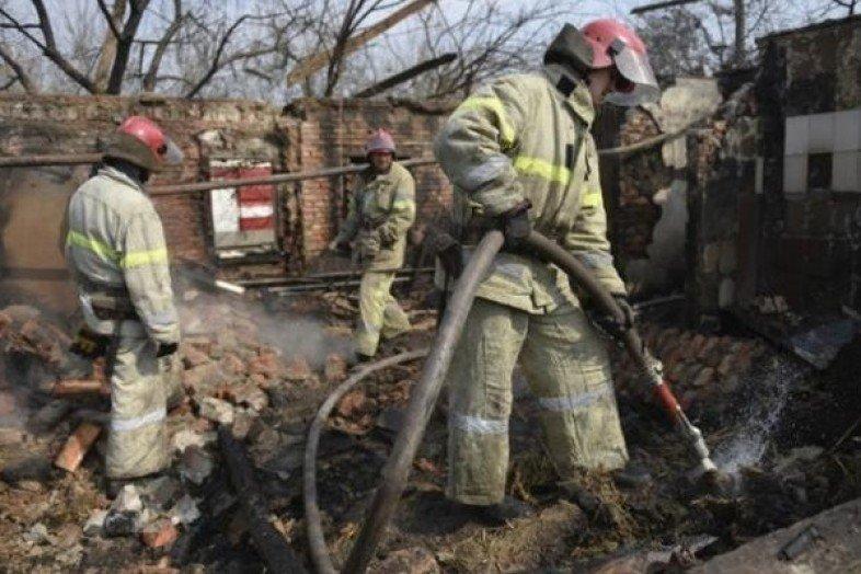 Под Одессой заживо сгорели дворники