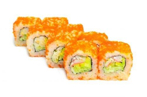 Доставка суши «Холодильник» делится рецептом вкусных роллов «Калифорния»