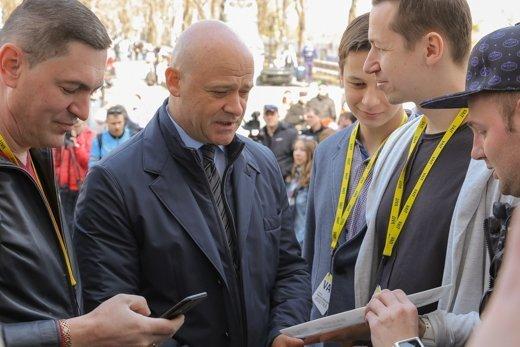 В Одесском горсовете решили разыграть комедию (ФОТО)