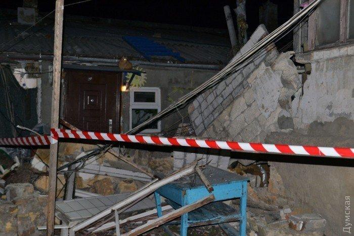 На Пересыпи восстановили разрушенный дом