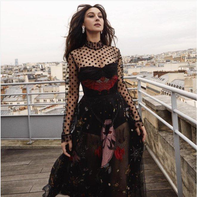 Новости гламура: Моника Белуччи снялась в одежде одесского дизайнера
