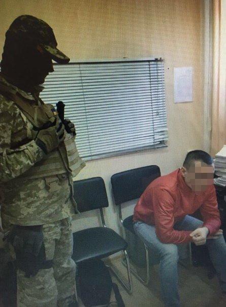 В Одессе задержали сепаратиста уголовника