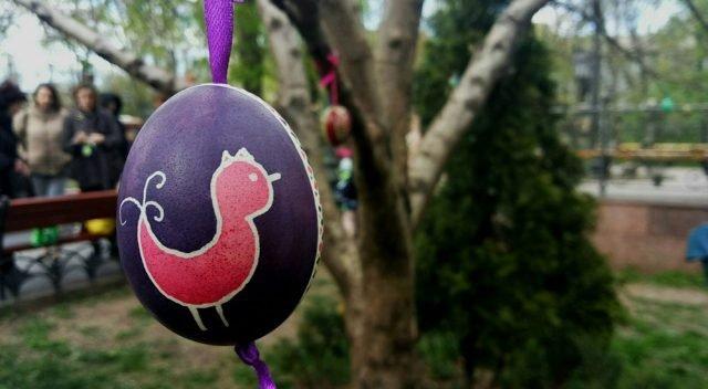 В Горсаду создали Пасхальное дерево (ФОТО)