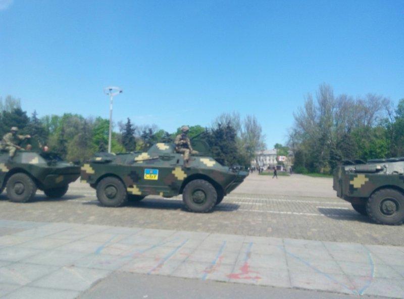 На Куликовом поле одесские правоохранители испытали новую технологию (ФОТО)
