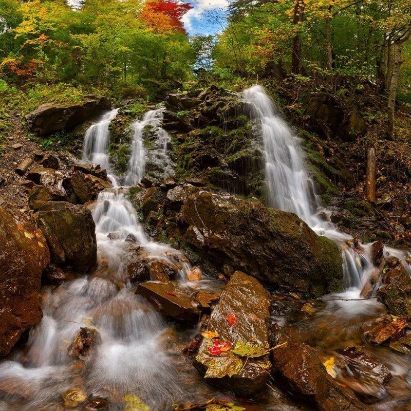 Водопады Карпат: красоты в окрестностях Буковеля
