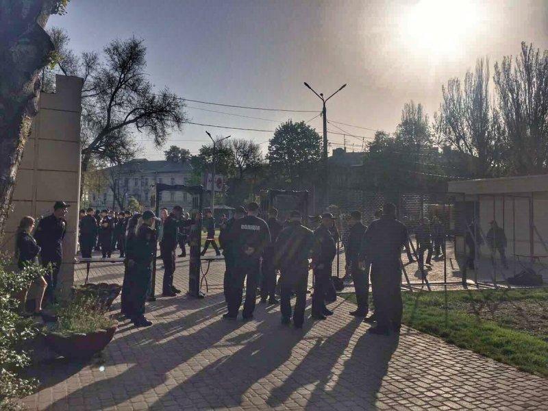 Правоохранители открыли Куликово поле в Одессе (ФОТО)