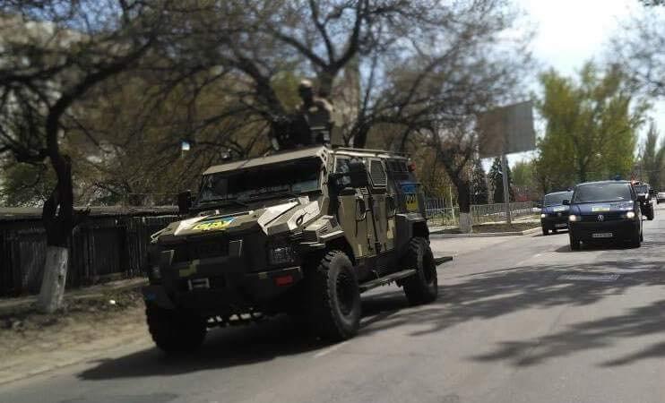 СБУ  проводит в Одессе антитеррористическую операцию (ВИДЕО)