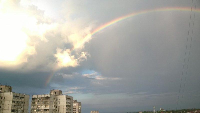 Красоты переменчивой погоды в Одессе (ФОТО)
