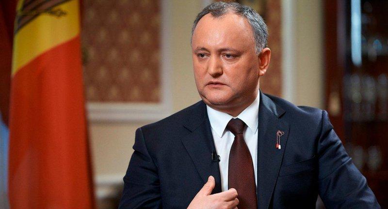 Игорь Додон обратился к Украине с просьбой защитить граждан Молдавии