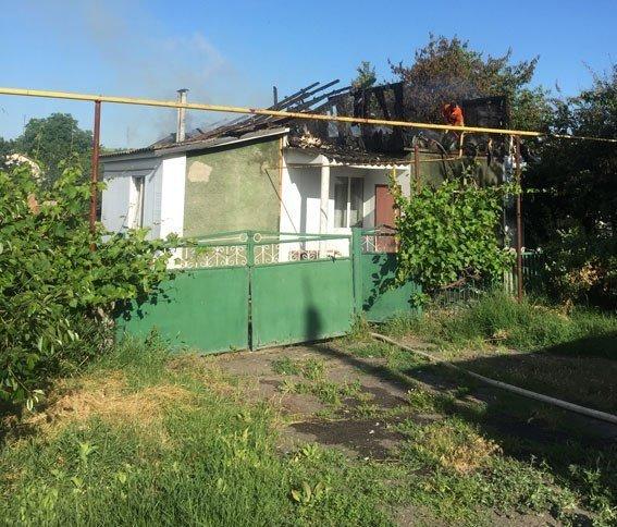 В Одесской области ревнивец решил сжечь дом своей подруги (ФОТО)