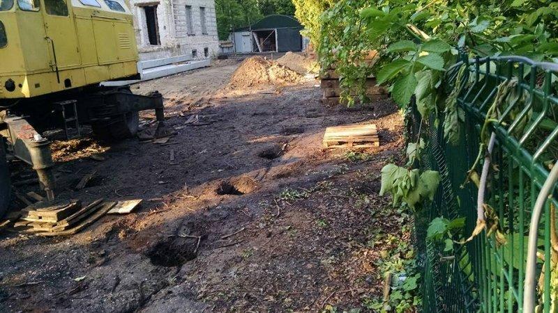 Одесские общественники собираются остановить строительство на территории дачи Анатра