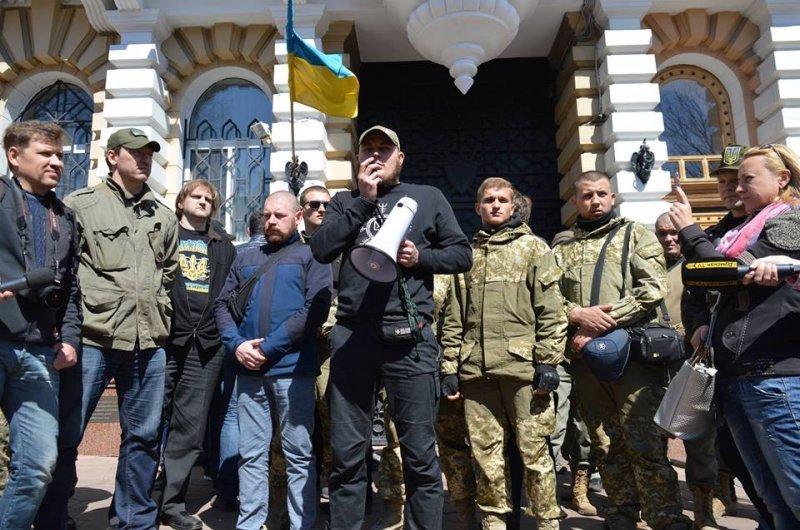 В Одессе начали задерживать украинских активистов