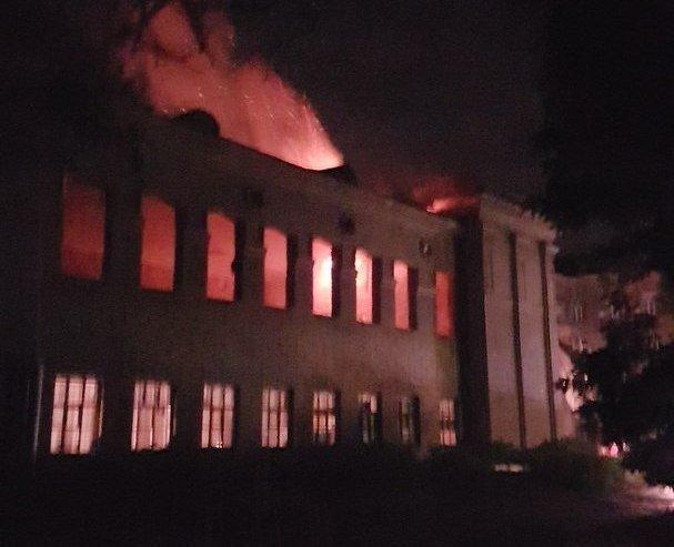 Ночью в Одессе прогремел мощный взрыв
