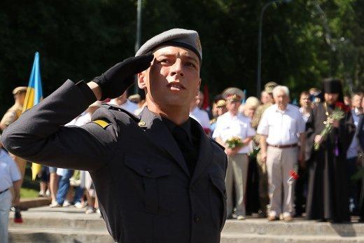 Церемония памяти на Аллее Славы: ветераны, чиновники и Труханов (ФОТО)
