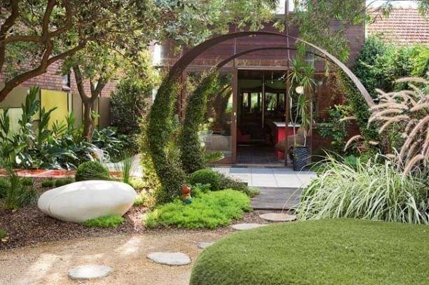 Идеи дизайна двора в частном доме