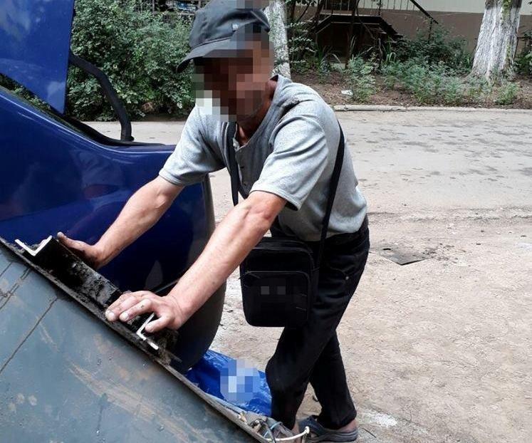 Одесские воры не брезгуют ничем (ФОТО)