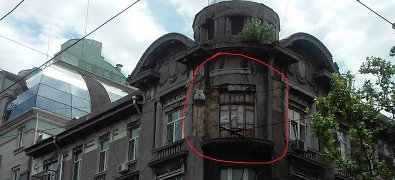 В центре Одессы аварийный чуть ли не каждый дом (ФОТО)
