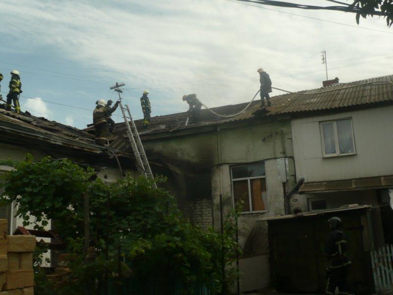На Пересыпи горело заброшенное здание (ФОТО)