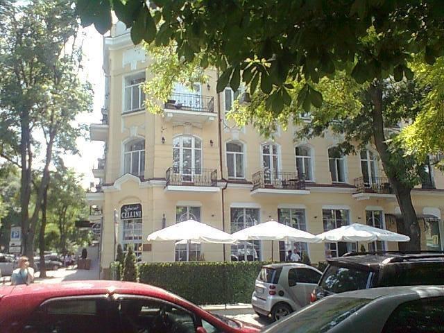 В центре Одессы вырубают деревья ради летних площадок кафе (ФОТО)