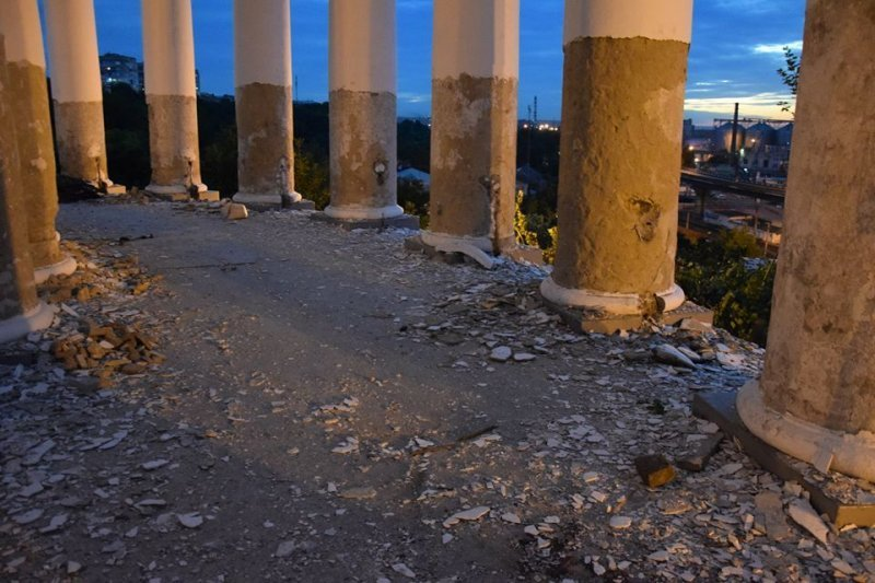 Что еще обнаружилось в ходе реставрации Воронцовской колоннады? (ФОТО)