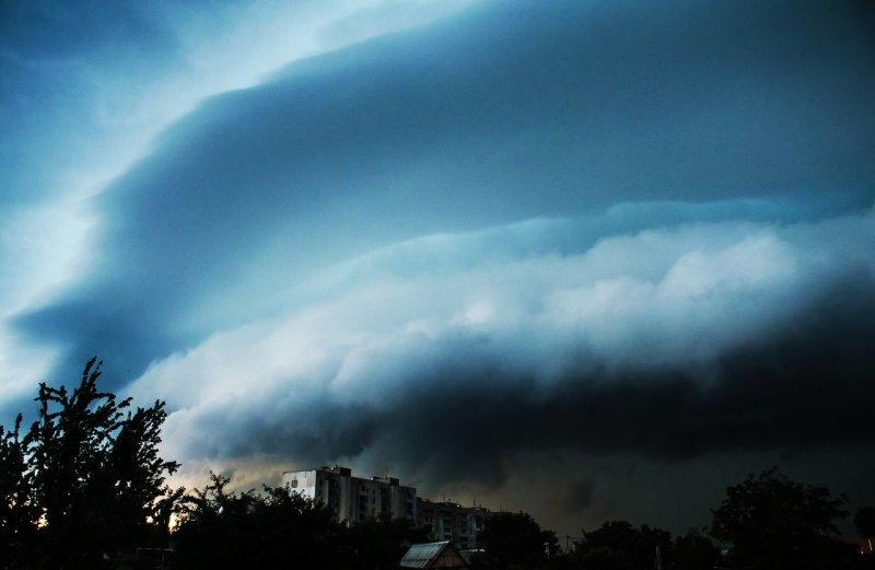 Последствия мощной стихии на Котовского (ФОТО, ВИДЕО)