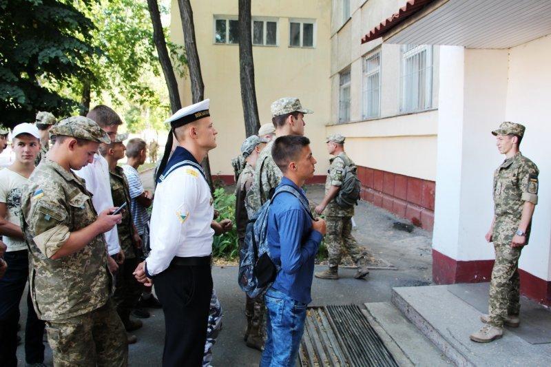 В рядах Одесской военной академии пополнение (ФОТО)