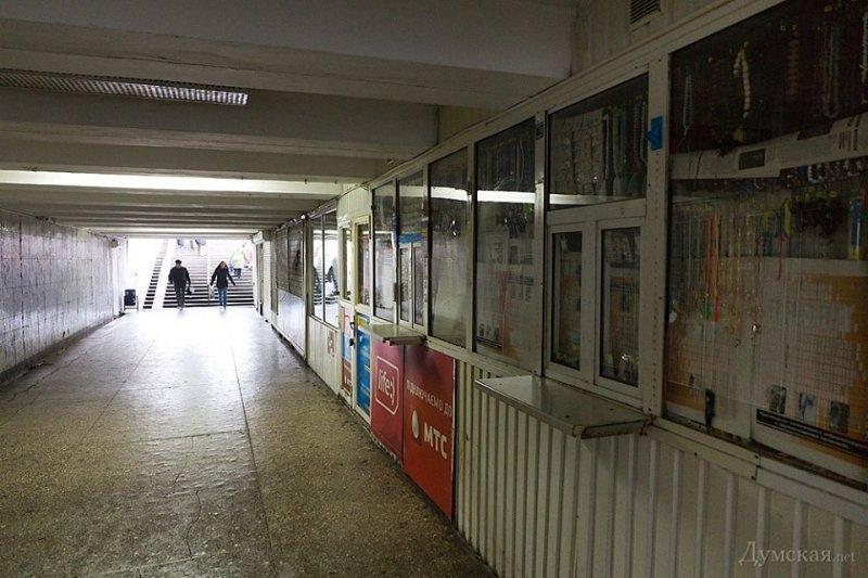 Одесским инвалидам отказали в безопасных подземных переходах
