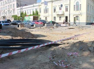Из-за тепловиков в Одессе вновь меняются схемы транспортного движения