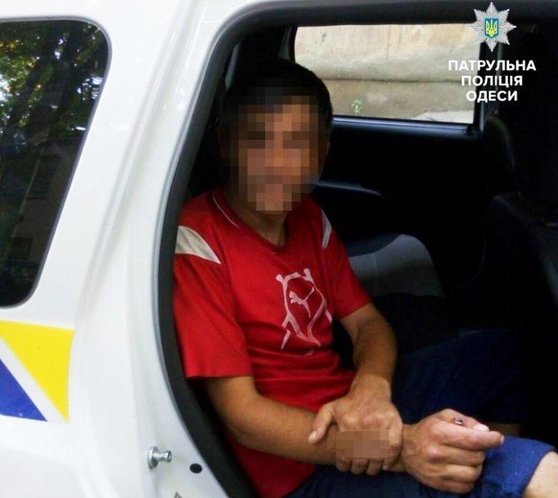 Квартирный вор задержан в Одессе (ФОТО)