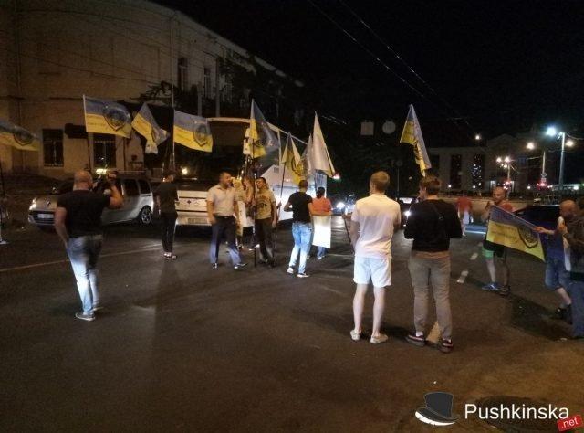 Протестанты против проституток с Таможенной площади задержаны