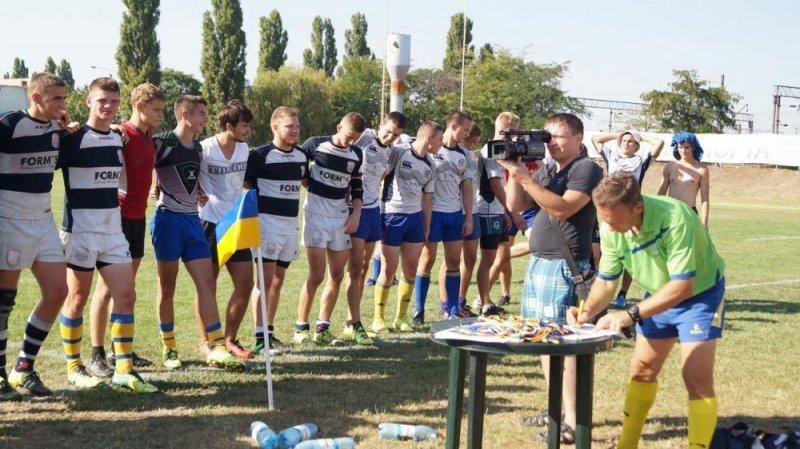 Одесситы стали безоговорочными победителями первенства Украины по регби-7