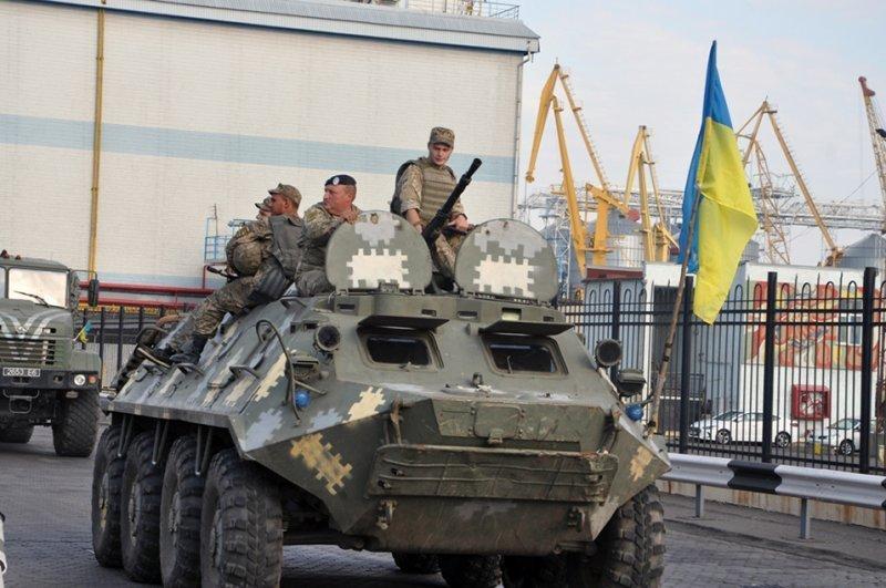 Морпехи высадились в Одесском порту (ФОТО)