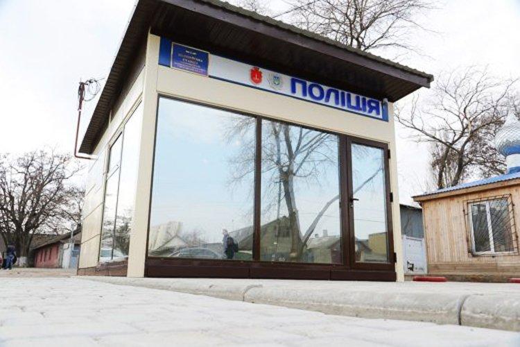 Установка полицейских станций в Одессе уже началась