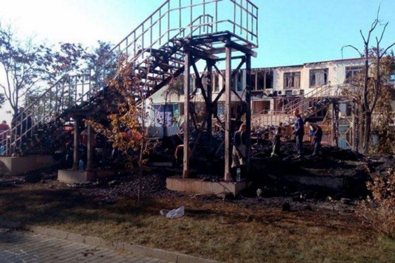 Скандальное заявление Юрия Луценко о пожаре в лагере «Виктория»