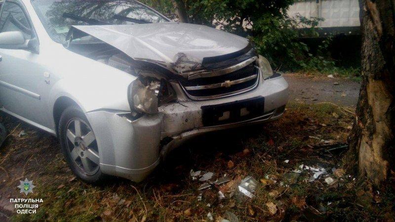 ДТП на Молдаванке: пострадала женщина (ФОТО)