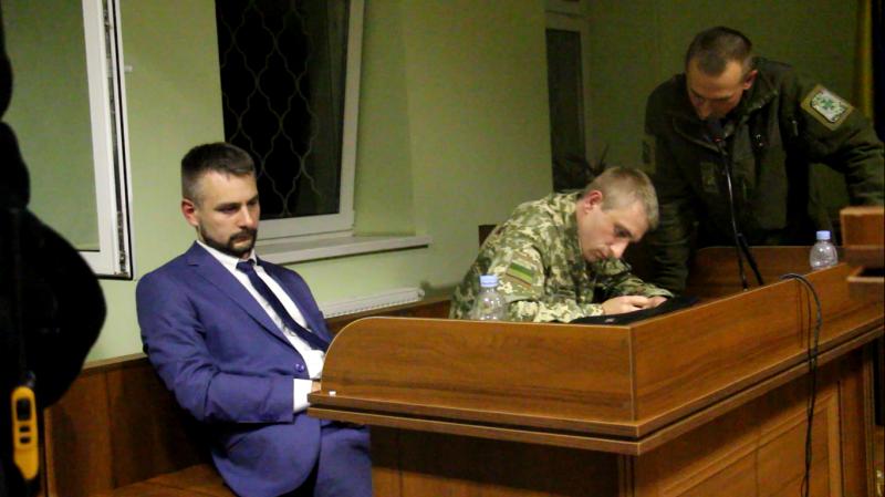 Вчера судили Саакашвили (ВИДЕО)