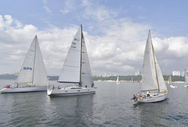 Яхты Одесского порта и в Черноморске сильнейшие