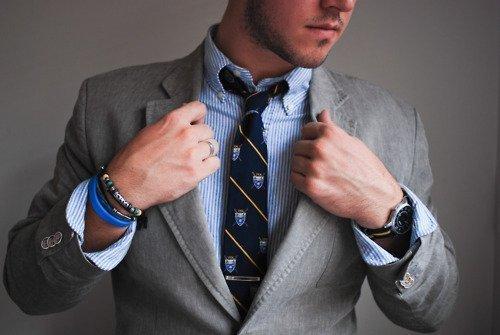 Мужские браслеты стали частью общей моды