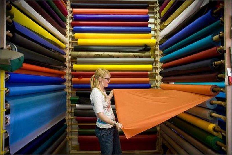 Из каких тканей лучше всего шить одежду?