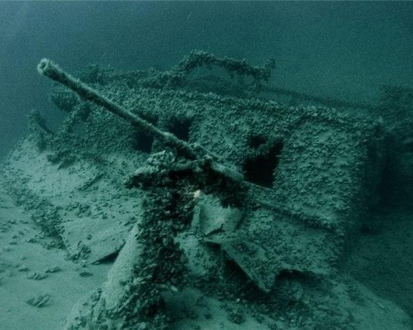 Разминирование акватории Черного моря продолжается