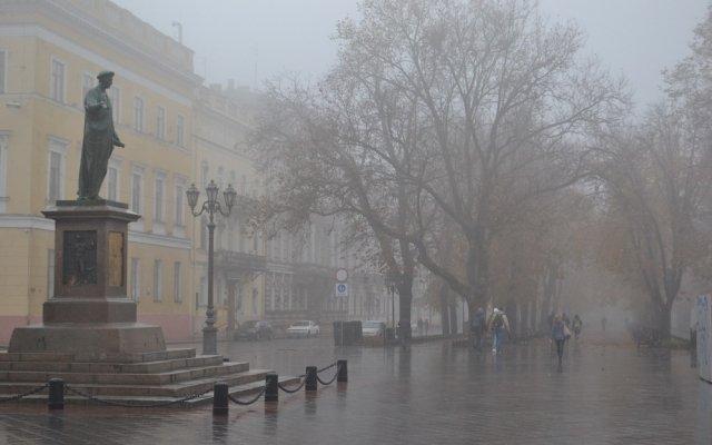 В Одессе местами туман